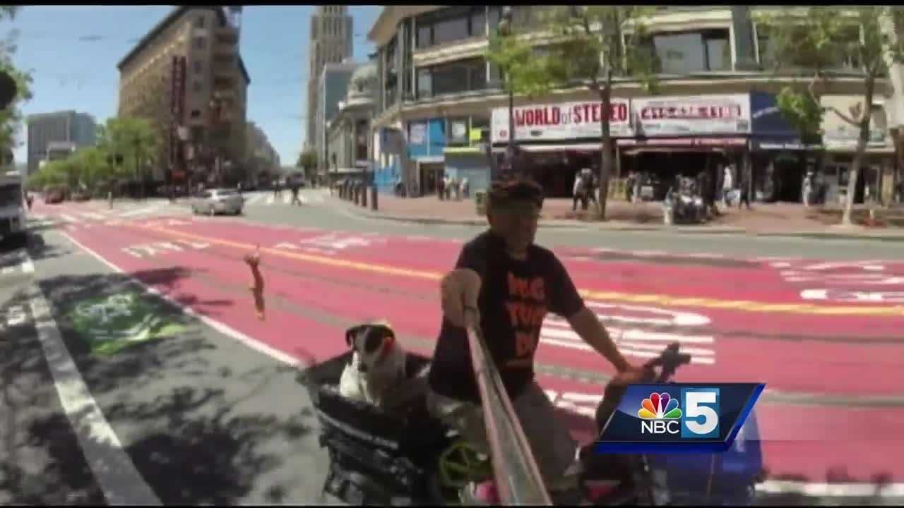 A man and his best friend are using two wheels to save four-legged friends across the country.