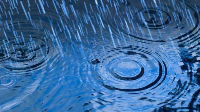 Rain - puddle
