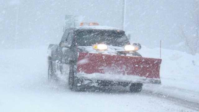 Snow plow - truck generic