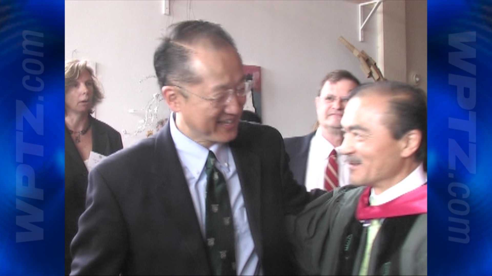 Jim Yong Kim, seen here at the beginning of his presidency at Dartmouth College in 2009, is President Obama's nominee to lead the World Bank.