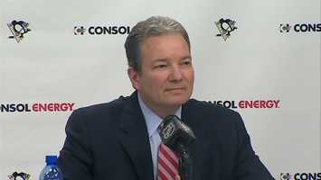 Penguins general manager Ray Shero, Winner of the 2013 NHL General Manager of the Year