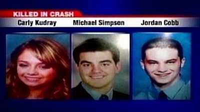 Carly Kudray, Jordan Cobb, Michael Simpson