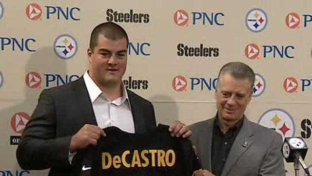 David DeCastro and Art Rooney II