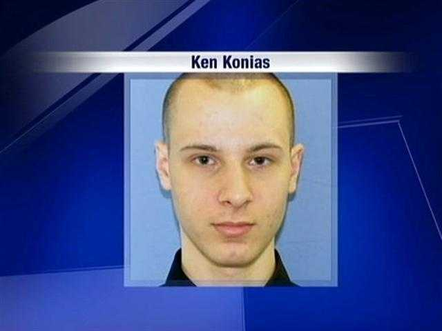 Pittsburgh police showed this photo to the public when they began looking for Ken Konias Jr.