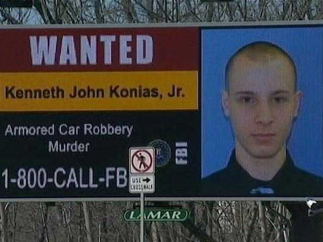 "It was featured on an FBI poster and the ""America's Most Wanted"" TV show."