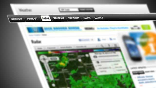 Our new weather home page even has its own navigation featuring quick access to maps, videocast and much more.