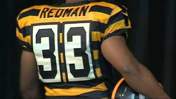 The Steelers' new classic uniforms are from 1934, back when the team was still named the Pirates.