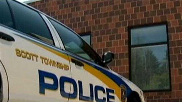 Scott Township police car