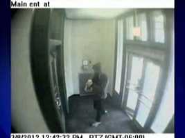 Surveillance video shows 25-year-old therapist Michael Schaab returning to Western Psych