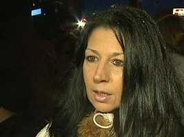 Alivia Kail's mother, Christine Didiano, was a speaker at the vigil.