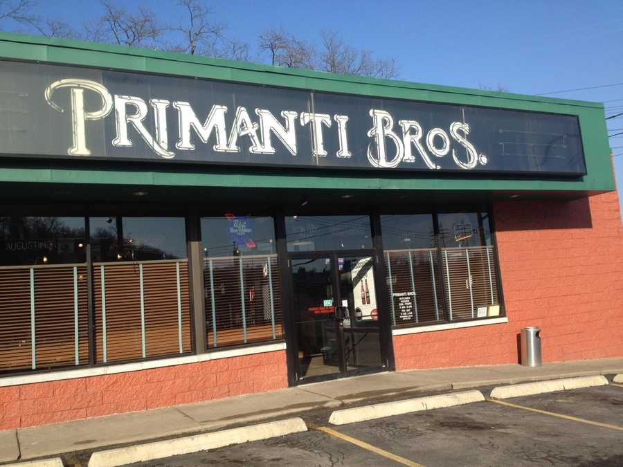 Primanti Bros. is also in the suburbs. Here's the North Versailles location.