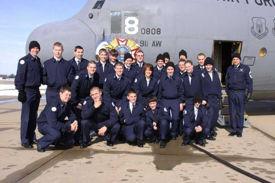 The Pine-Richland High School Air Force Junior ROTC Program took flight with the 911th Airlift Wing in January 2011.