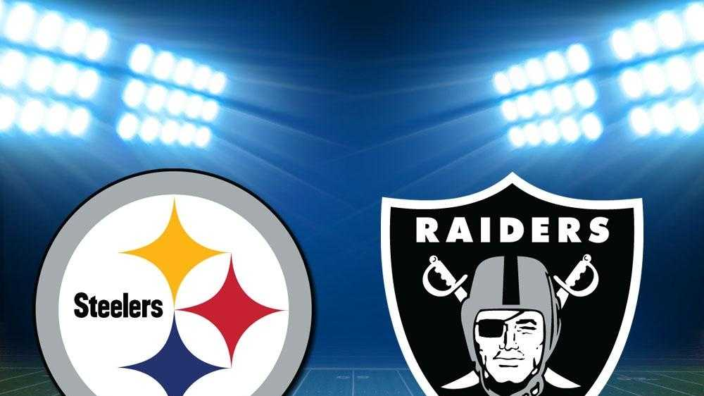 Pittsburgh Steelers Oakland Raiders