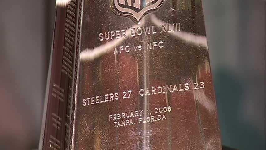Lombardi Trophy: Super Bowl XLIII