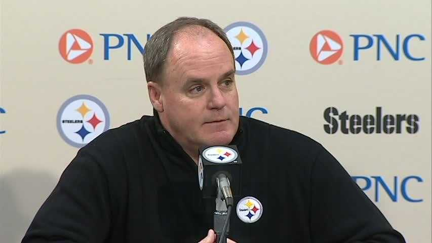 Steelers general manager Kevin Colbert
