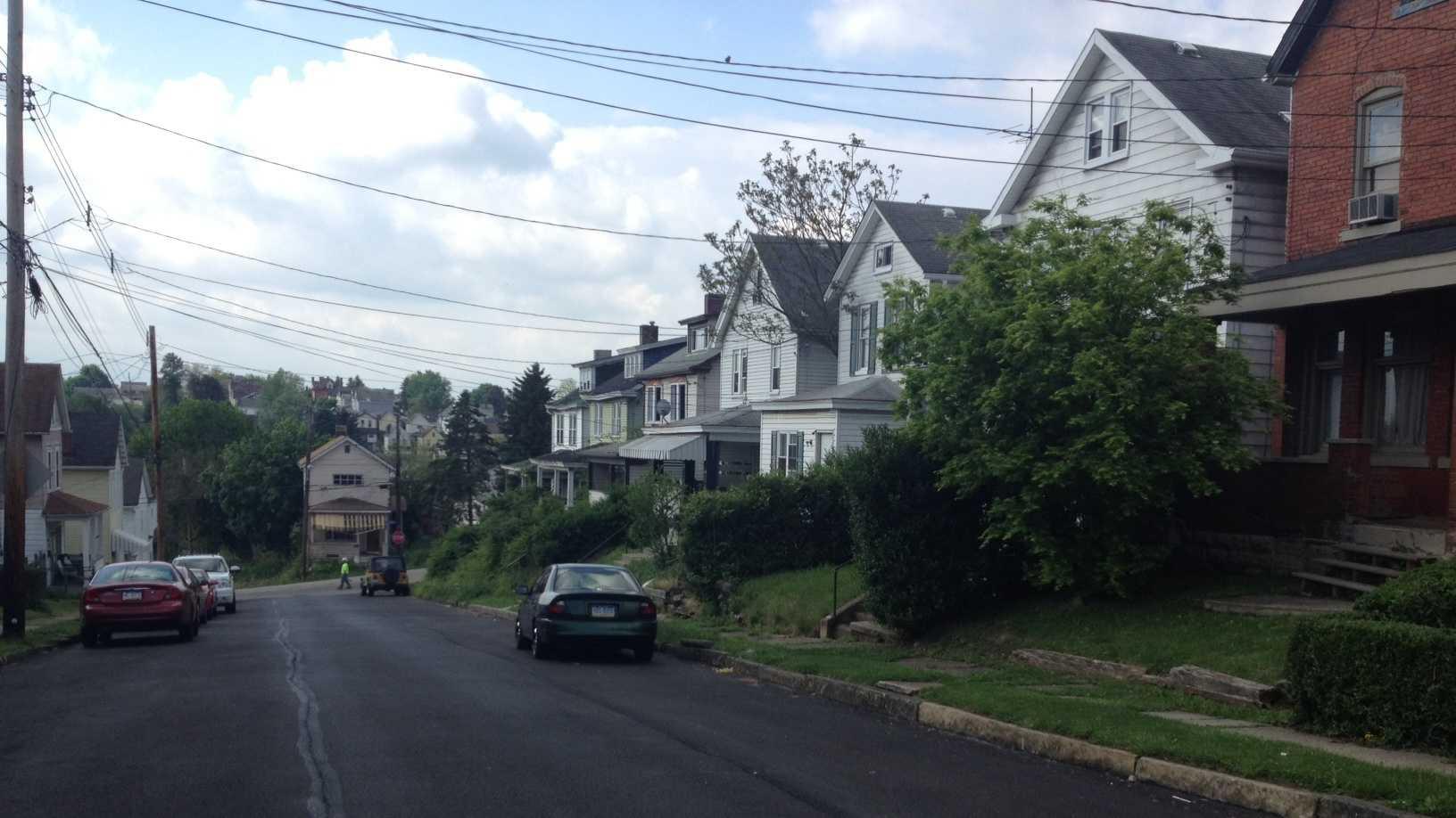 Hamilton Street in McKeesport