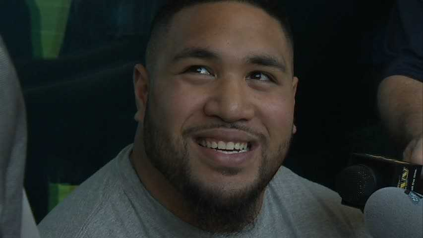 Pittsburgh Steelers rookie defensive lineman Alameda Ta'amu was arrested on charges of leading police on a chase while driving drunk and crashing into parked cars, injuring a woman, authorities said.