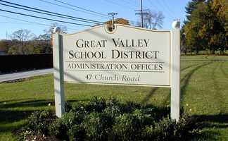 18) Great Valley High School in MalvernIt was ranked #7 locally and #630 nationally.