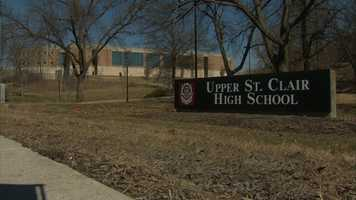4) Upper St. Clair High School in Upper St. ClairIt was ranked #4 statewide and #400 nationally.