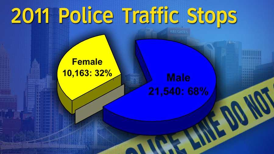 This is a breakdown of traffic stops based on gender.