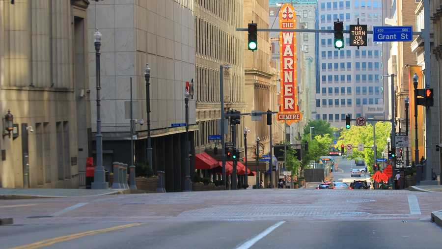 ROBBERIES: Downtown 87, South Side Flats 63, East Liberty 49, Carrick 43, Shadyside 41
