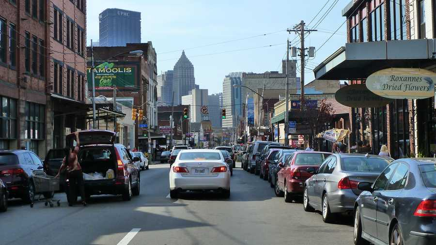 The Strip District, Squirrel Hill South and Brookline were three other neighborhoods that saw over 3% of all police traffic stops.