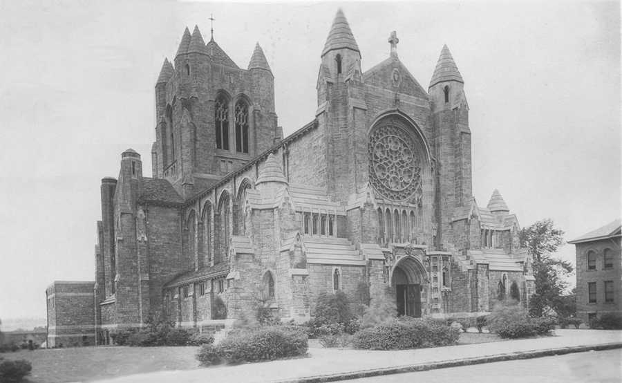 Blessed Sacrament Cathedral on N. Main Street in Greensburg was dedicated in September 1928.
