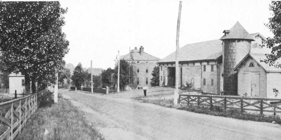 Sellcroft, farm and summer home of John S. Sell family.