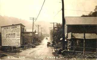 Sandy Creek was once the industrial center of Penn Hills, home to coal and limestone mining, a rail depot and retail center.