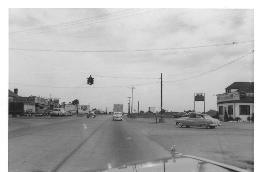 Consider that this was the view from Business Route 22 east at Center and Stroschein roads in 1950.