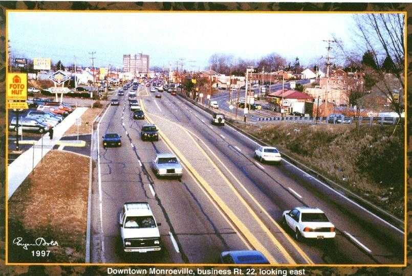 The same view in the mid 1990s....