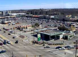 2005 - Aerial view of Miracle Mile Shopping Plaza