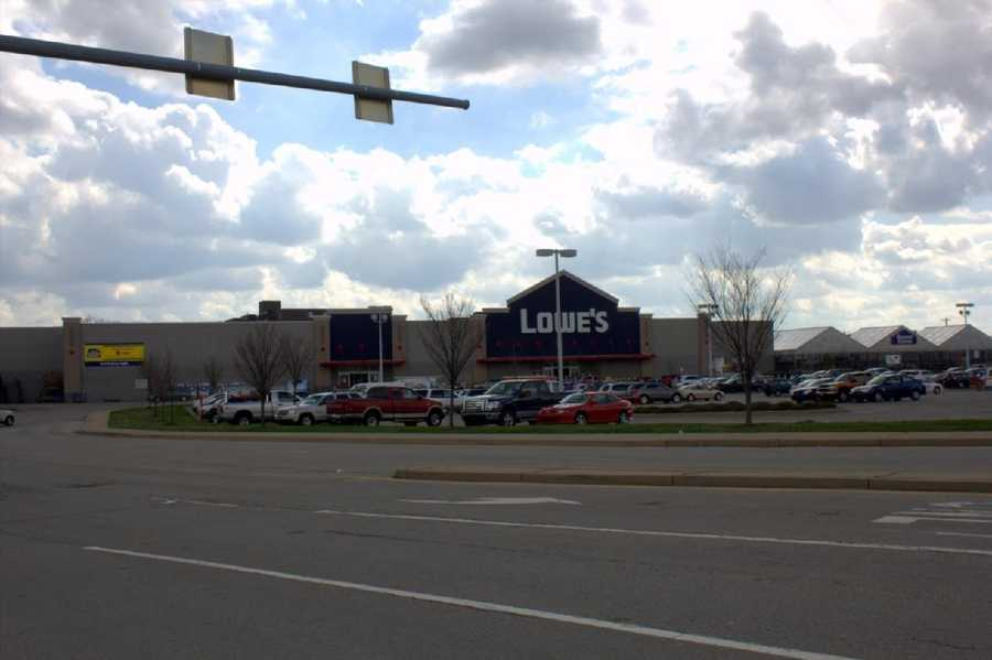 2012 - The former Kaufmann's site now is home to a Lowe's Home Improvement store.