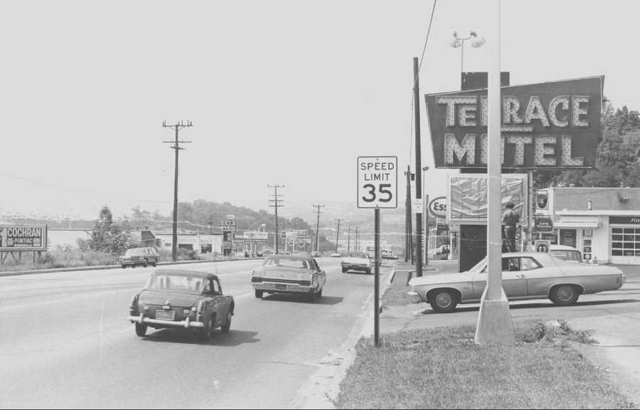 1969 - Terrace Motel on Route 22