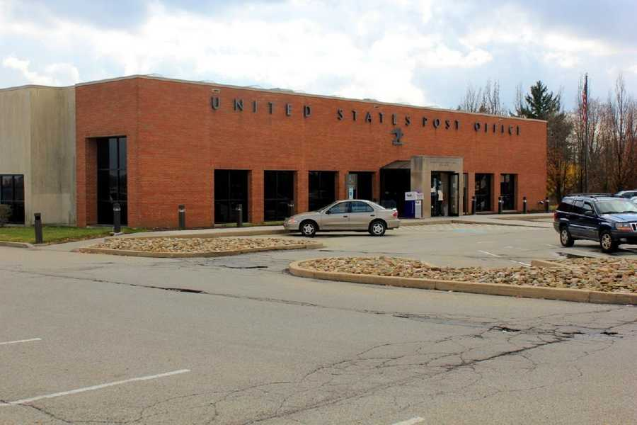 2012 - The current U.S. Post Office on Monroeville Boulevard.