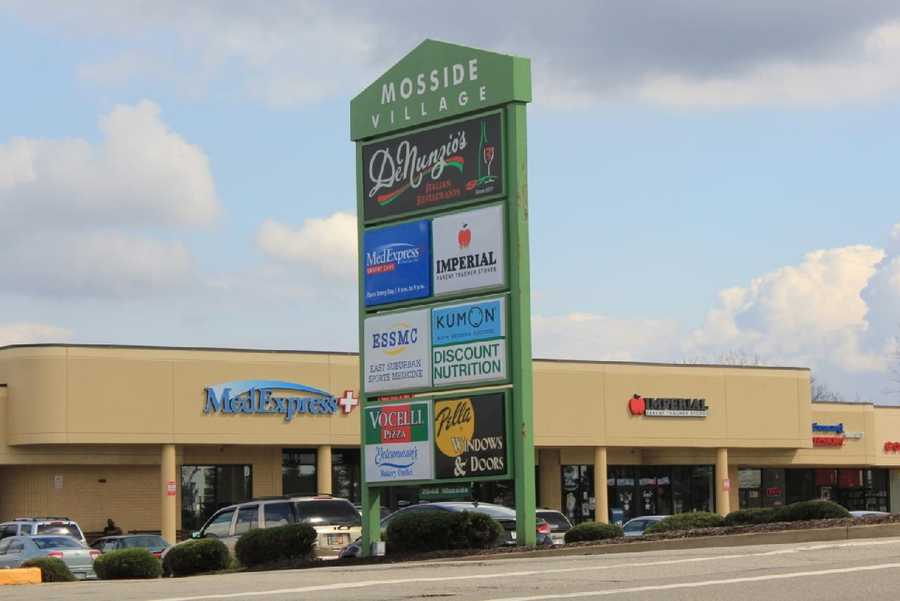 2012 - It still is home to approximately a dozen stores.