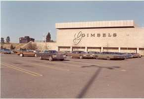 1970 - Gimbels department store was the first anchor store on the west end of the Monroeville Mall.