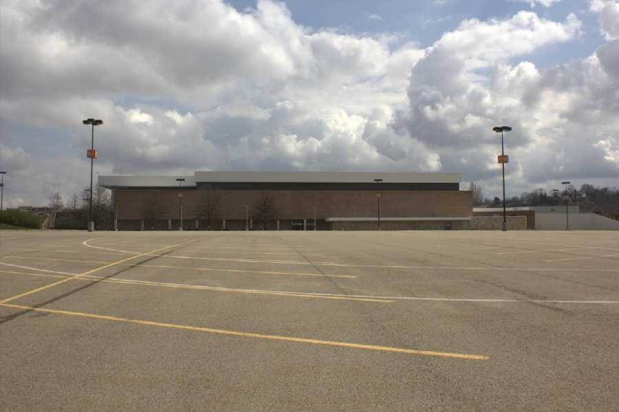 2012 - A look at the west end of the Monroeville Mall today.