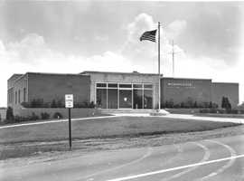 1957 - The Monroeville Municipal Building open for business.