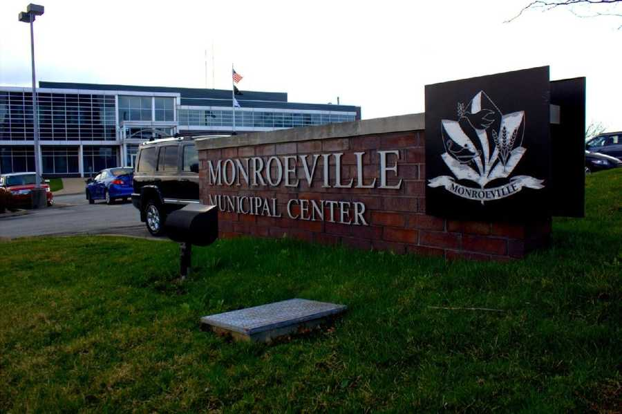 2012 - Monroeville's new municipal building. It opened to the public in 2000.