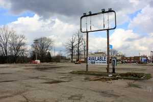 2012 - A look at the area where Burger King, William Penn Motel and other businesses once stood.
