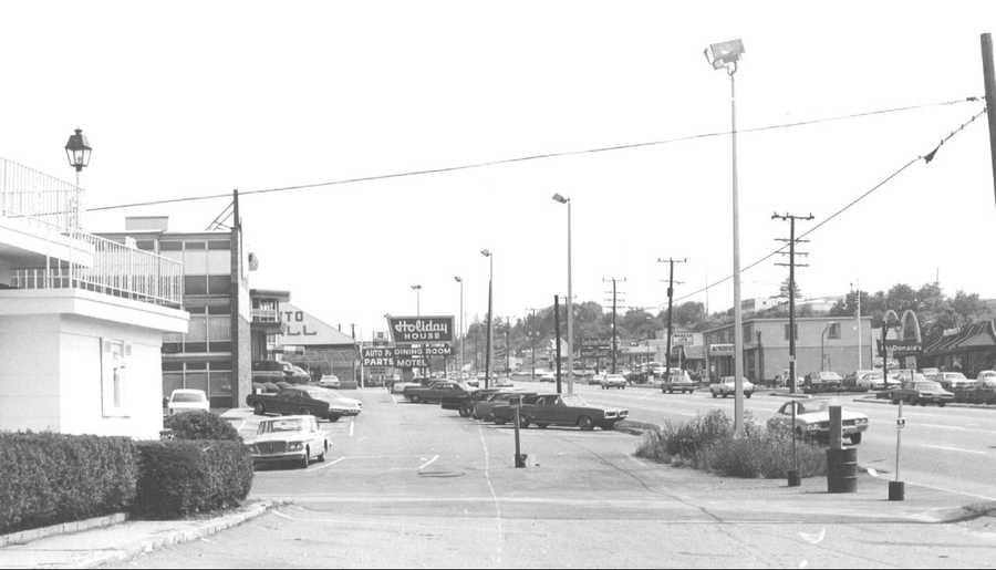 1970s - Holiday House opened in October 1954 on William Penn Highway at the site where Bed, Bath & Beyond is now.