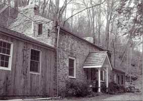 This stone house on nearby Lime Hollow Road is considered to be one of the oldest structures in Western Pennsylvania. Historians believe the home was built in the middle eighteenth century, possibly as early as the 1700s. The house is believed to have acted as a French trading post. George Washington is believed to have stayed in the home during one of his trips to the area.