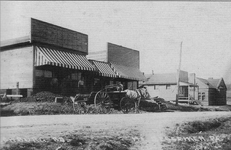 The town that grew up around the railyard was known as North Bessemer.