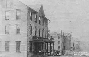The Burns Hotel in North Bessemer