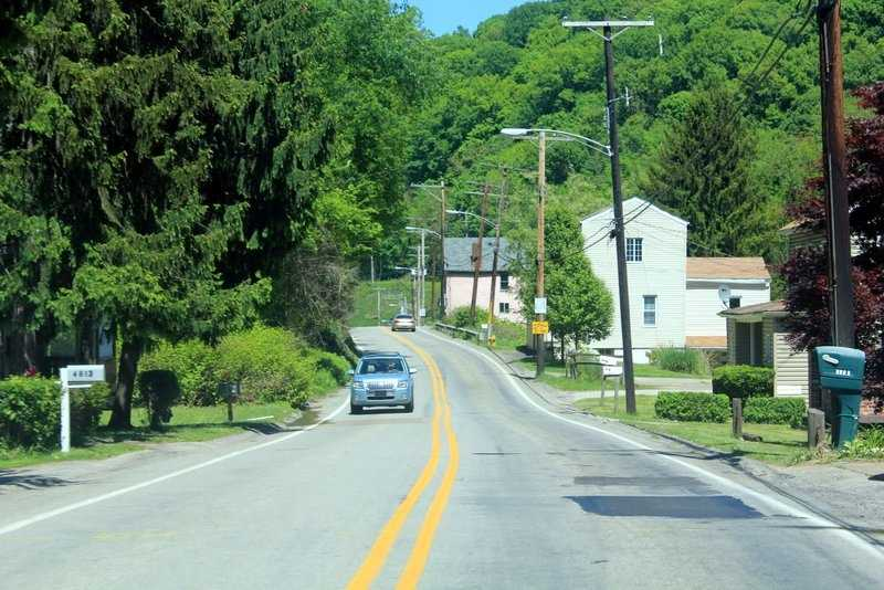 Today, one of Penn Hills busiest roads slices through the area.