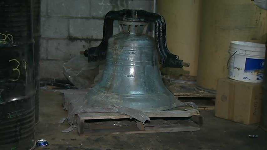 Frankfort Springs Presbyterian Church bell