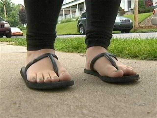 So would flip-flops.