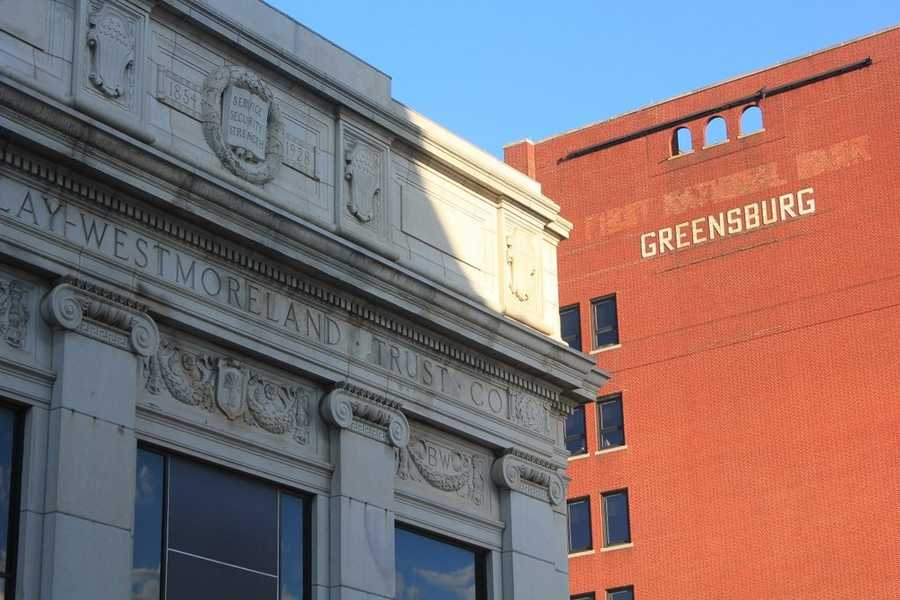 Greensburg is a city in Westmoreland County, home to just under 15,000 people. It's history dates back to the mid to late 1700s. It was officially incorporated in February 1799, and there are many buildings in the city's historic areas that show off its age.