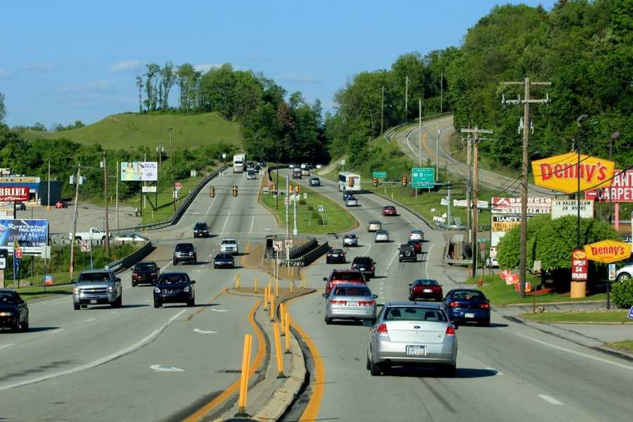 Today, Route 30 is one of the busiest roads in the county, serving as a major link between Greensburg, Pittsburgh and the nearly Laurel Mountains.